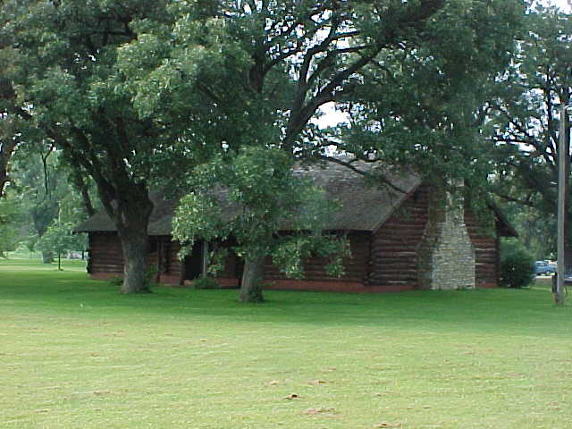 Area around Riverview Log Cabin