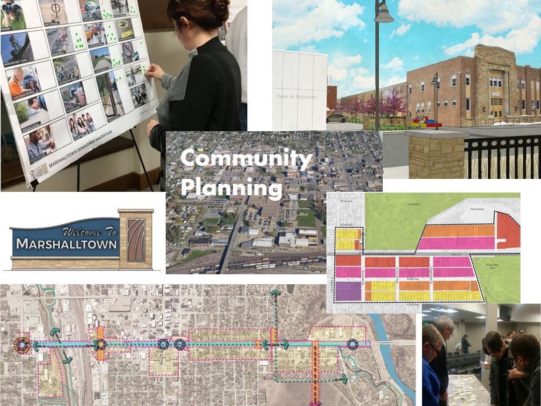 Collection of images related to Community Planning