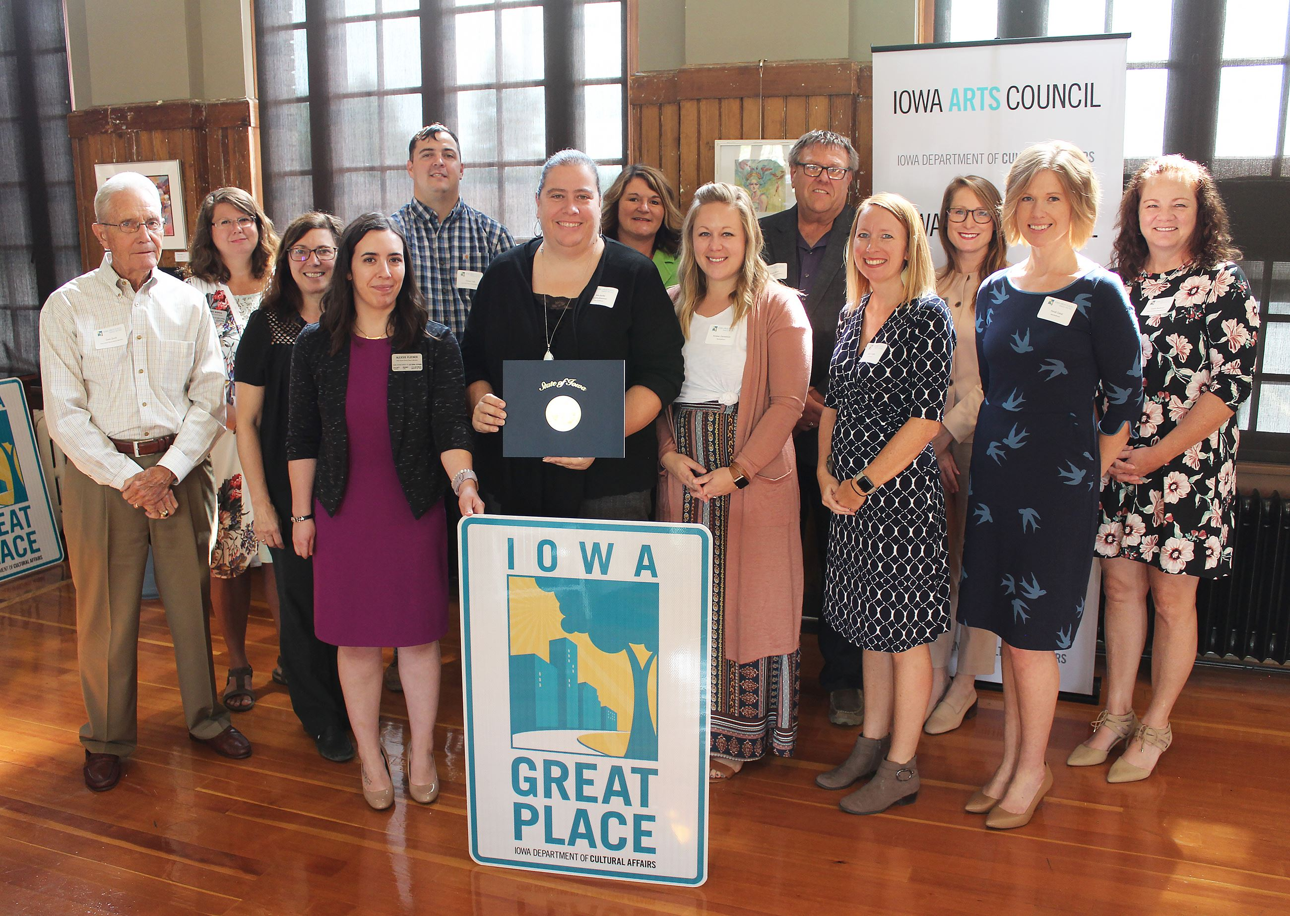 Marshalltown Iowa Great Place Award Photo