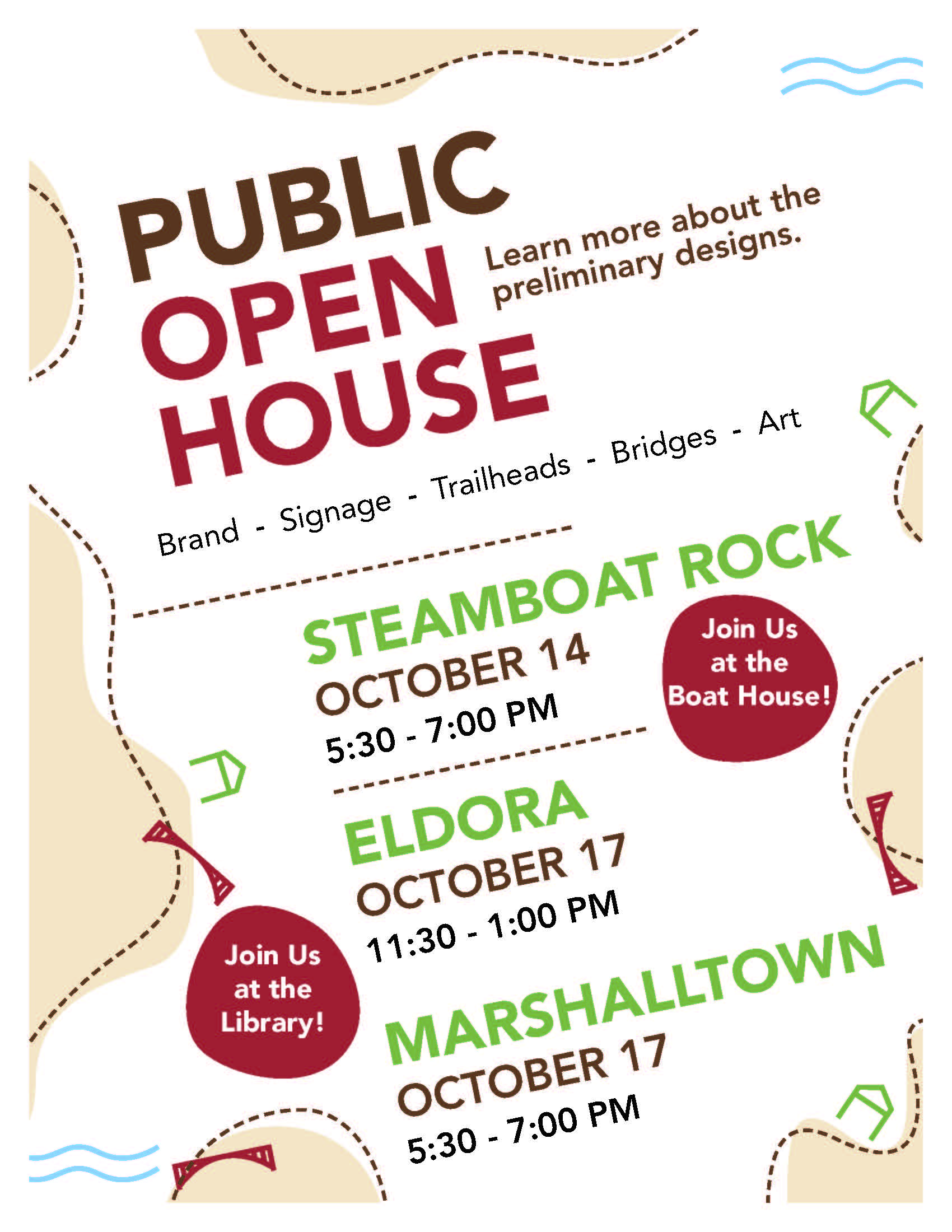 Public Open Houses- Iowa River Tral v. 2