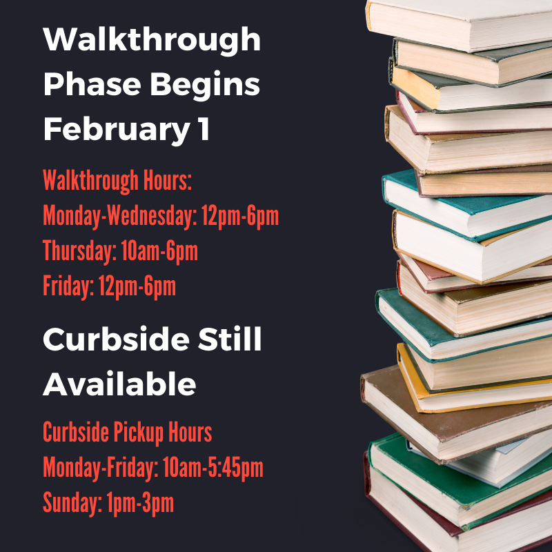 Library Walkthrough Hours