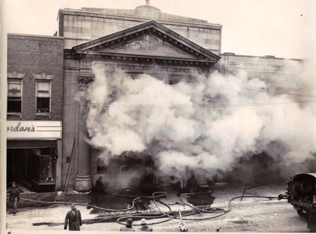 Fidelity Savings Bank Fire