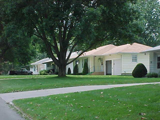 Neighborhood homes on South 12th Street