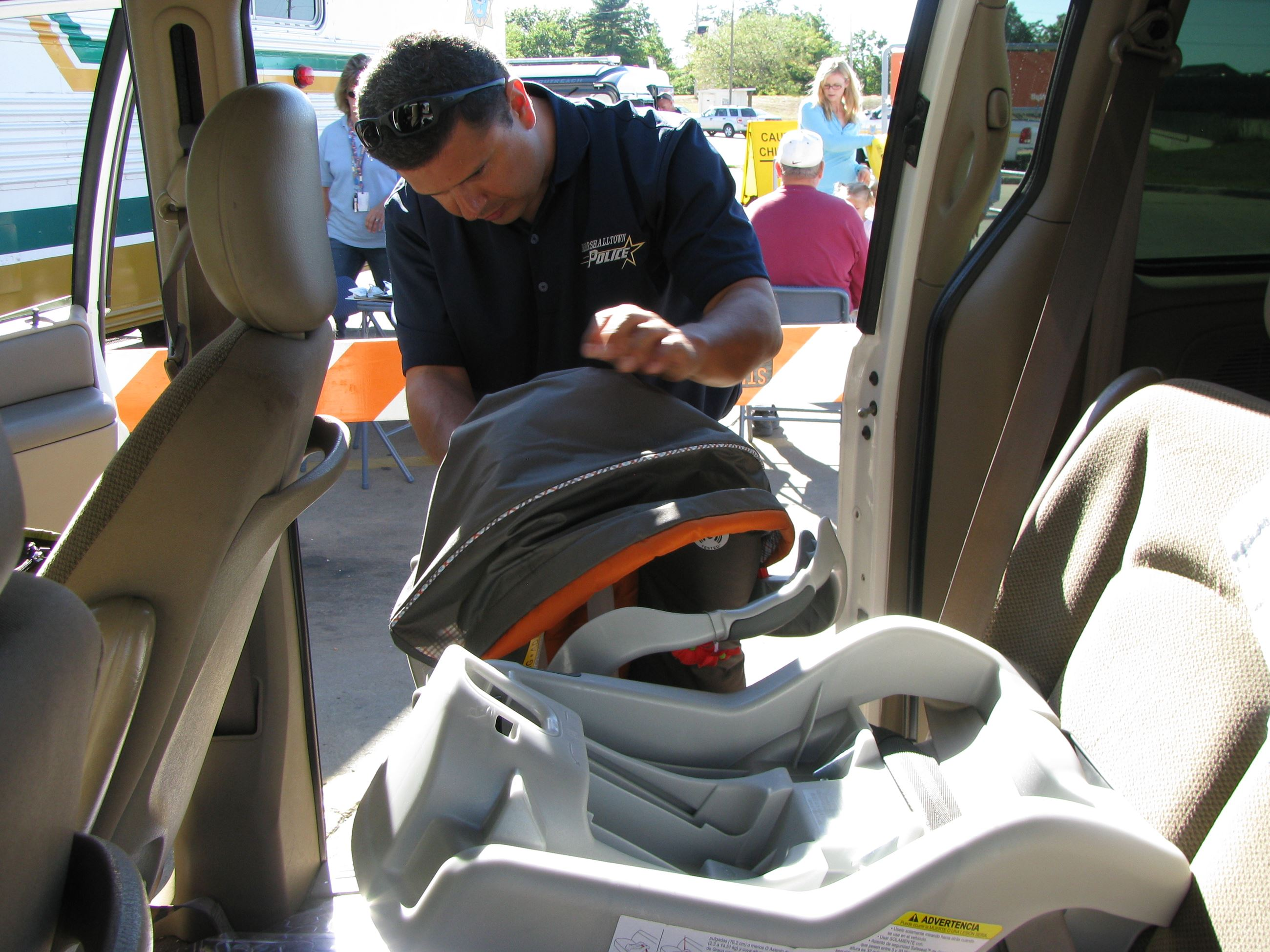 Child Seat Inspection