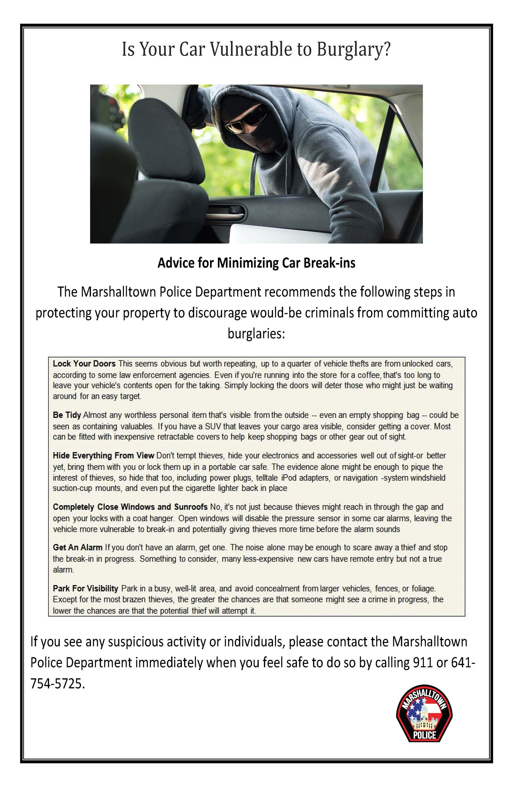 Is Your Car Vulnerable to Burglary 1 1